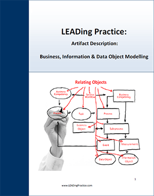 Business, Information & Data Object Modelling
